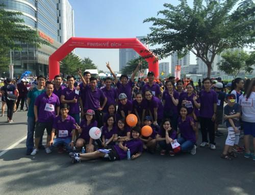 "TTIV participated ""Terry Fox Charity Run 2015"""