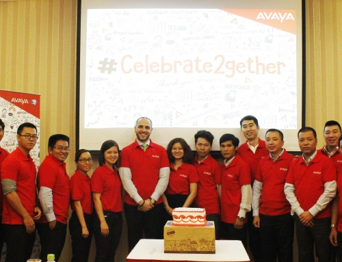 Trends join the event celebrate2gether with Avaya and Elite